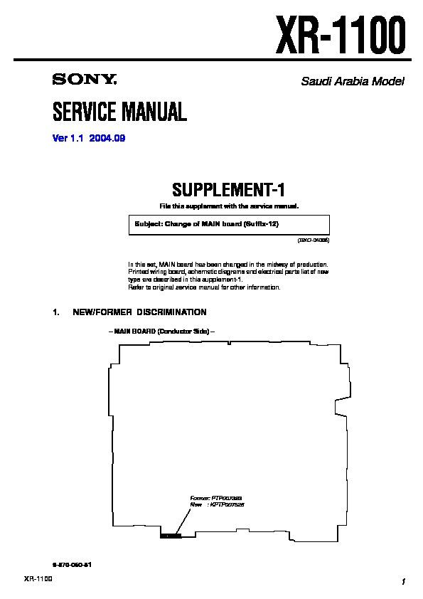 sony xr 1100 serv man3 service manual free download rh servicemanuals us th700 repair manual TH700 Pan