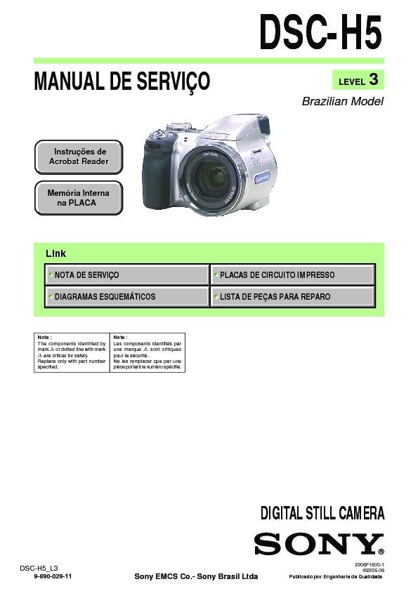 sony dsc h5 service manual free download rh servicemanuals us sony dsc h5 manual español sony dsc-h5 manual download