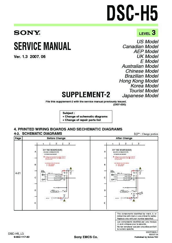 sony dsc h5 service manual free download rh servicemanuals us Digital Camera Sony Cyber-shot DSC H5 Sony DSC H5 Adaptors Lenses
