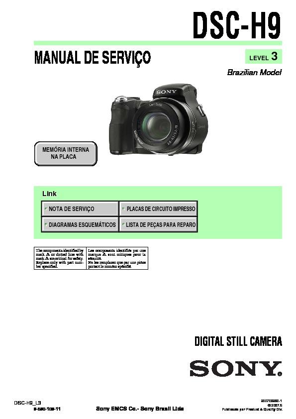 sony dsc h9 service manual free download rh servicemanuals us Sony DSC H9 Manual Sony Cyber-shot 8 1 Mega Pixels
