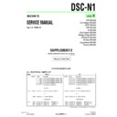Sony DSC-N1 (serv.man10) Service Manual
