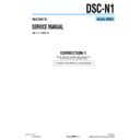 Sony DSC-N1 (serv.man13) Service Manual
