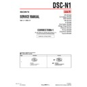 Sony DSC-N1 (serv.man14) Service Manual