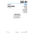 Sony DSC-N1 (serv.man15) Service Manual