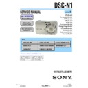 Sony DSC-N1 (serv.man2) Service Manual