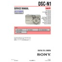 Sony DSC-N1 (serv.man3) Service Manual