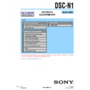 Sony DSC-N1 (serv.man4) Service Manual