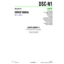 Sony DSC-N1 (serv.man5) Service Manual