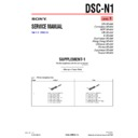 Sony DSC-N1 (serv.man7) Service Manual