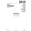 Sony DSC-N1 (serv.man9) Service Manual