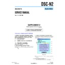 Sony DSC-N2 (serv.man10) Service Manual