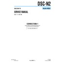 Sony DSC-N2 (serv.man11) Service Manual