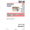 Sony DSC-N2 (serv.man3) Service Manual