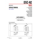 Sony DSC-N2 (serv.man5) Service Manual