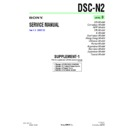 Sony DSC-N2 (serv.man7) Service Manual