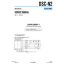 Sony DSC-N2 (serv.man8) Service Manual