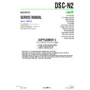 Sony DSC-N2 (serv.man9) Service Manual