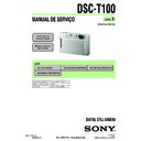 Sony DSC-T100 (serv.man12) Service Manual