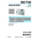 Sony DSC-T100 (serv.man13) Service Manual