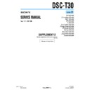 Sony DSC-T30 (serv.man8) Service Manual