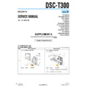 Sony DSC-T300 (serv.man10) Service Manual