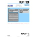 Sony DSC-T300 (serv.man3) Service Manual