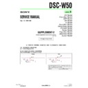 Sony DSC-W50 (serv.man11) Service Manual
