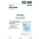 Sony DSC-W55 (serv.man10) Service Manual