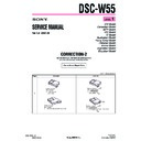 Sony DSC-W55 (serv.man12) Service Manual