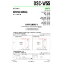 Sony DSC-W55 (serv.man8) Service Manual