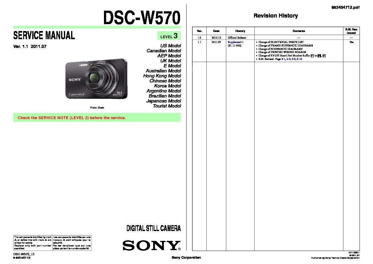 Digital camera manuals online