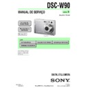 Sony DSC-W90 (serv.man13) Service Manual