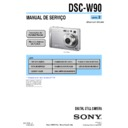 Sony DSC-W90 (serv.man14) Service Manual