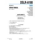 dslr-a100 (serv.man3) service manual