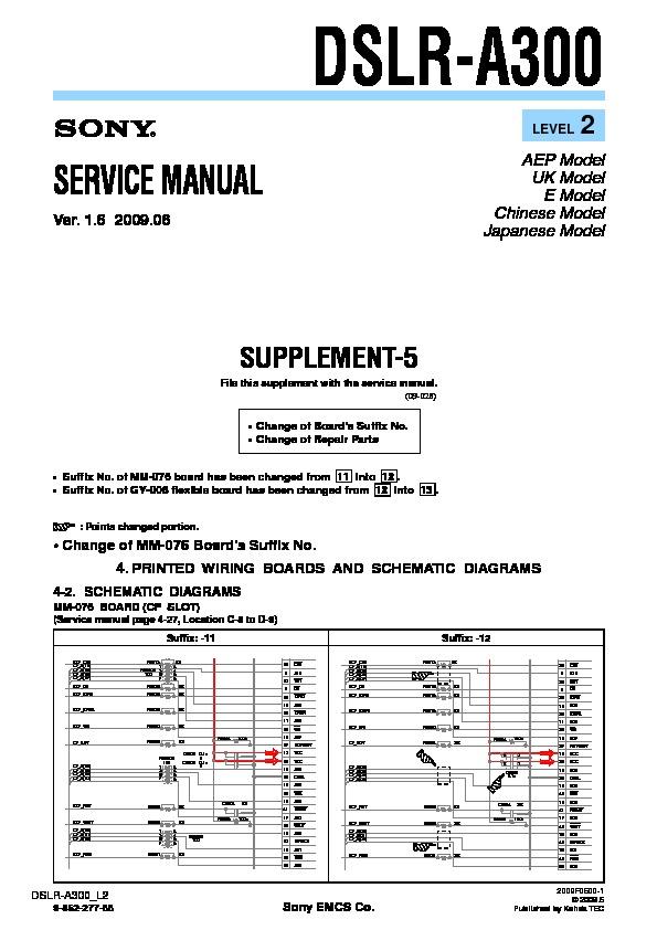 sony dslr a300 serv man5 service manual free download rh servicemanuals us sony a300 manual download sony a3000 manual pdf