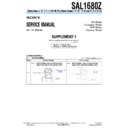 SAL1680Z (serv.man3) Service Manual