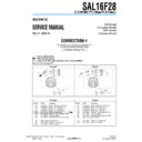 sal16f28 (serv.man3) service manual
