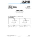 SAL24105 (serv.man3) Service Manual