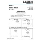 SAL28F28 (serv.man3) Service Manual