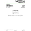 SAL300F28G (serv.man3) Service Manual