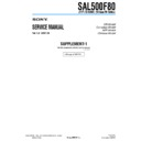 SAL500F80 (serv.man3) Service Manual