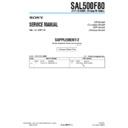 SAL500F80 (serv.man4) Service Manual