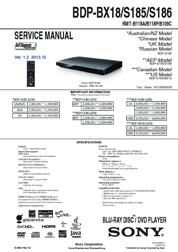 sony bdp bx1 bdp s350 service manual free download rh servicemanuals us sony bdp-s350 user manual sony bdp s350 manual download
