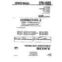 Sony CPD-100ES (serv.man3) Service Manual