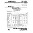 Sony CPD-100ES (serv.man6) Service Manual