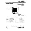 Sony CPD-100SF Service Manual