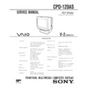 Sony CPD-120AS Service Manual