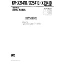 Sony CPD-1425 (serv.man2) Service Manual