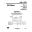 Sony CPD-15SF1 (serv.man3) Service Manual