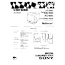 Sony CPD-1730 Service Manual